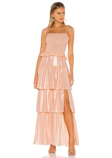 Amanda Uprichard Duchess Maxi Dress
