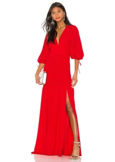Amanda Uprichard Gala Maxi Dress