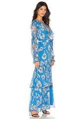 Amanda Uprichard Janelle Maxi Dress