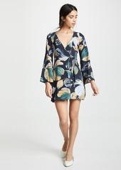 Amanda Uprichard Jillian Wrap Dress