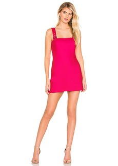 Amanda Uprichard Mandy Buckle Dress