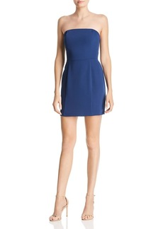 Amanda Uprichard Mandy Strapless Mini Dress