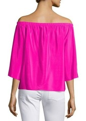 Amanda Uprichard Nirvana Off-the-Shoulder Top