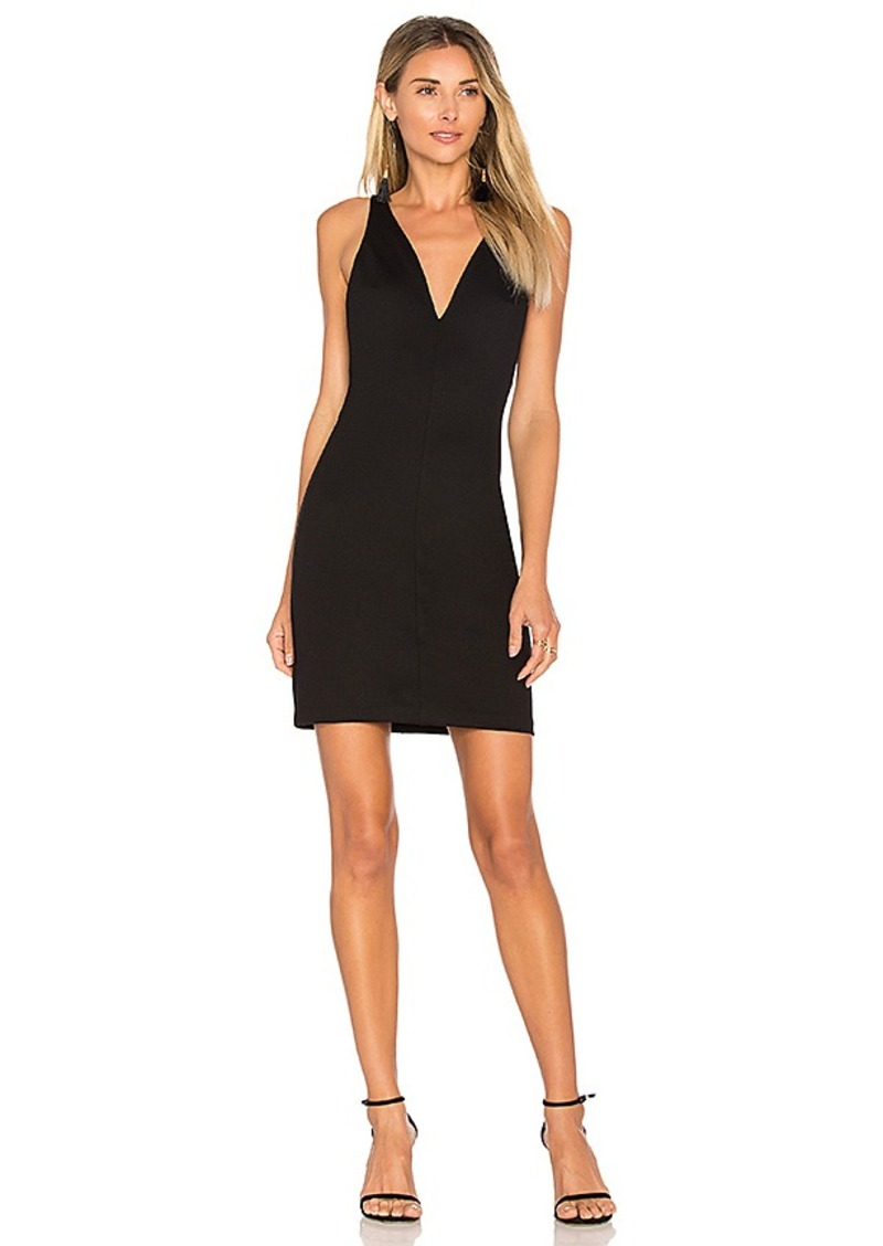 x REVOLVE Long Sleeve Hudson Mini Dress in Black. - size M (also in L,S,XS) Amanda Uprichard