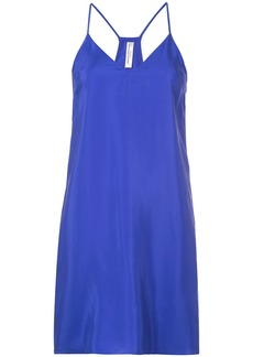 Amanda Uprichard racerback sweetheart shift - Blue