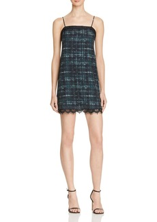 Amanda Uprichard Rosie Plaid Slip Dress