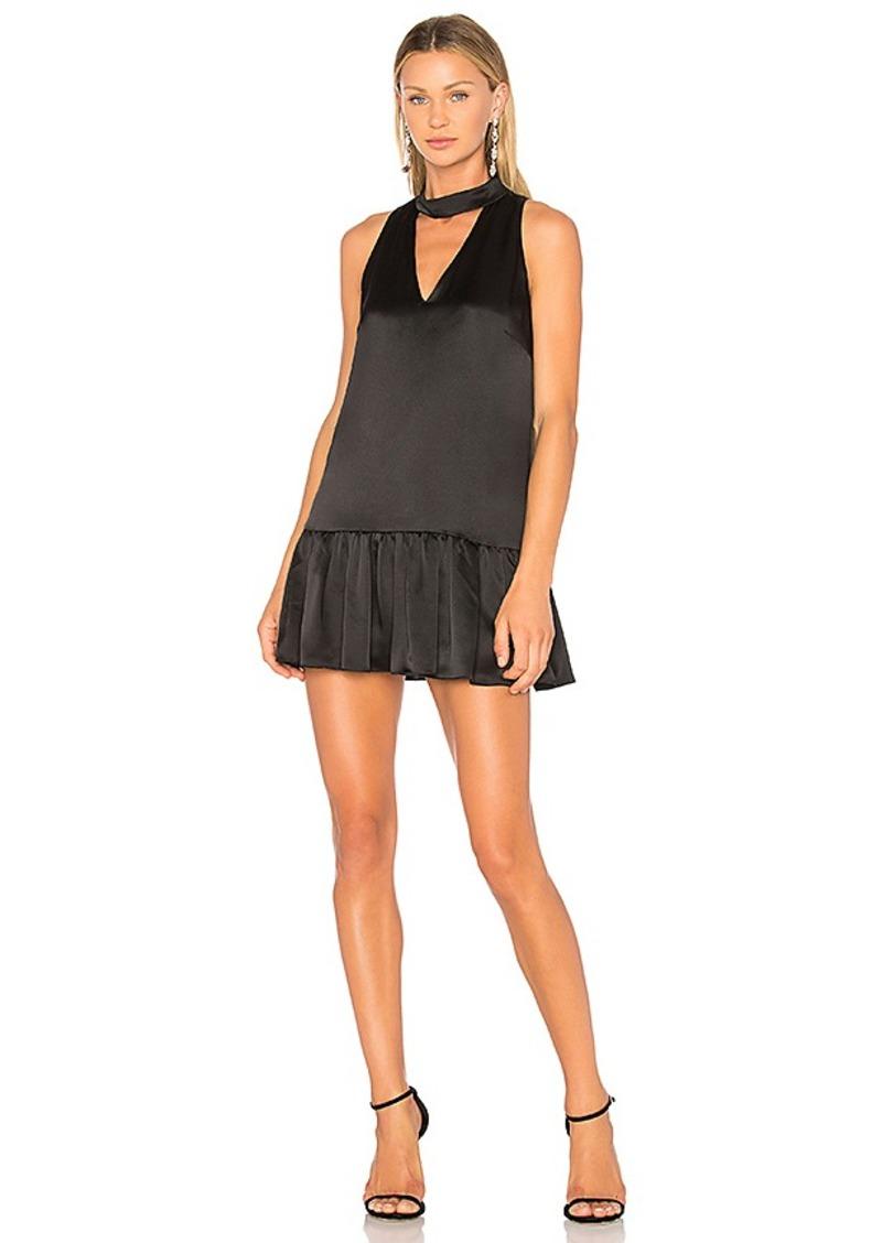 Danica Ruffle Dress in Black. - size M (also in L,S,XS) Amanda Uprichard