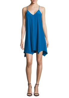 Amanda Uprichard Silk Slip Dress