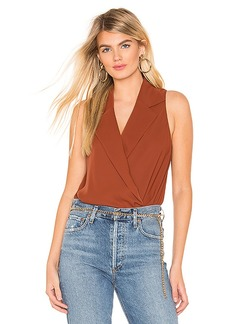 Amanda Uprichard Sleeveless Leonard Top