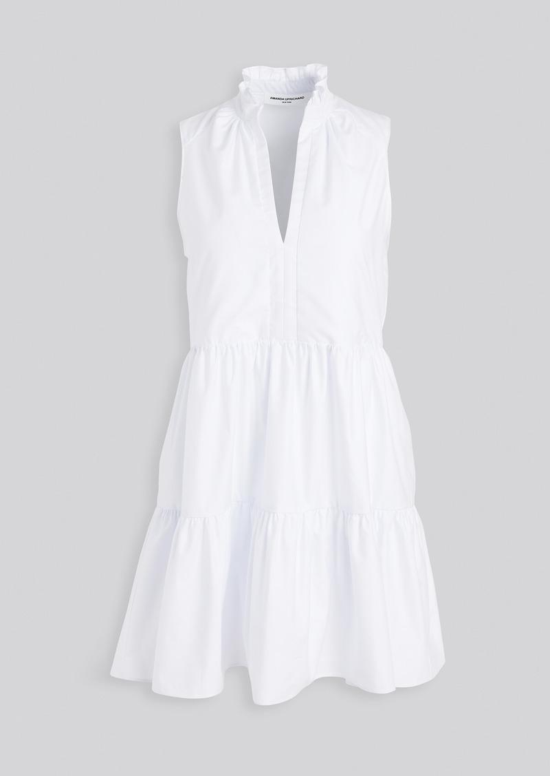 Amanda Uprichard Sleeveless Saffron Dress