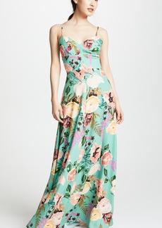 Amanda Uprichard Sunrise Maxi Dress