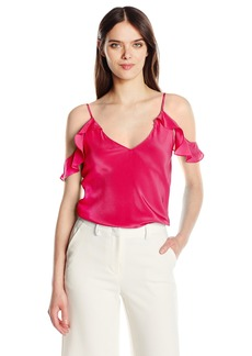 Amanda Uprichard Women's Aliyah Top PASSIONFRUIT M