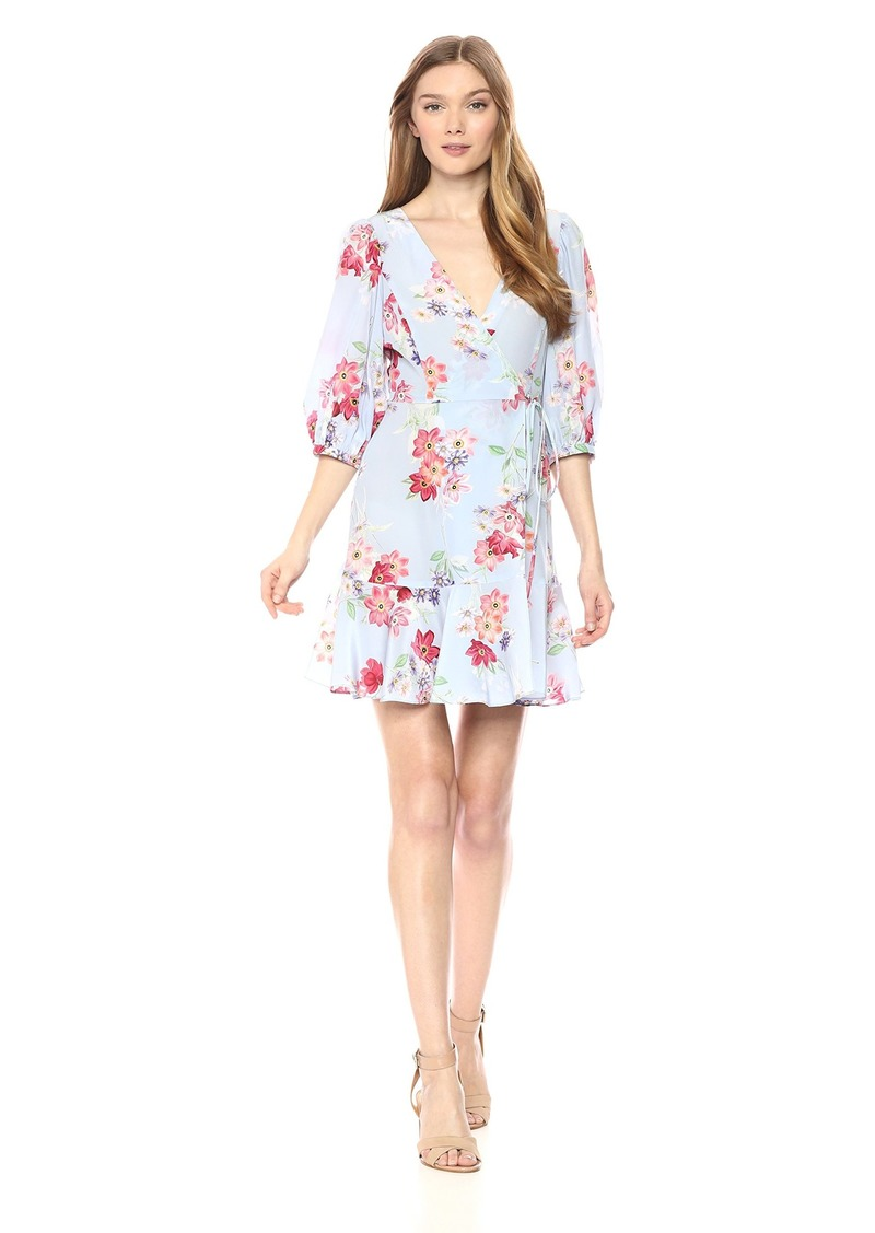 Amanda Uprichard Women's Calico Wrap Dress