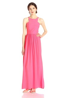 Amanda Uprichard Women's Elle Sleeveless Silk Maxi Dress