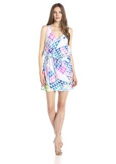 Amanda Uprichard Women's Flutter Shelf Sleeveless  Dress