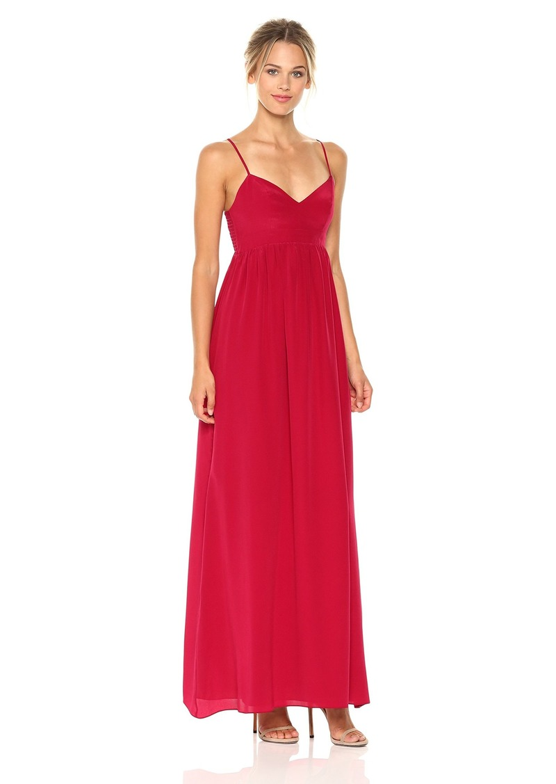 Amanda Uprichard Women's Gown Maxi Dress red S
