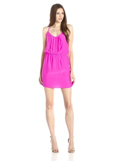 Amanda Uprichard Women's Kenzie Sillk Dress Ladder Back Detail