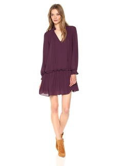 Amanda Uprichard Women's Lilian Dress BLACKCHERRY L