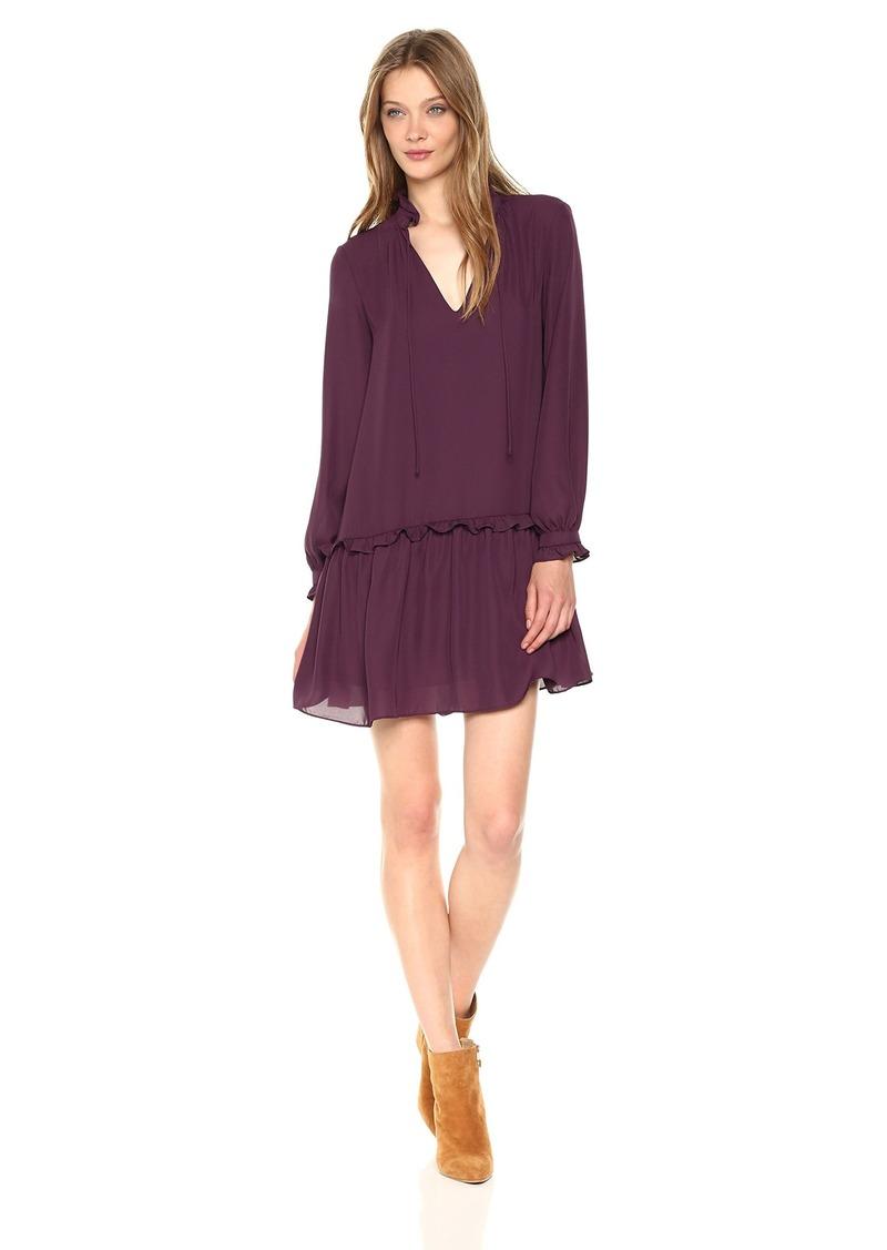 Amanda Uprichard Women's Lilian Dress BLACKCHERRY L