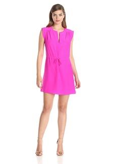 Amanda Uprichard Women's Market Silk Tiewaist Dress