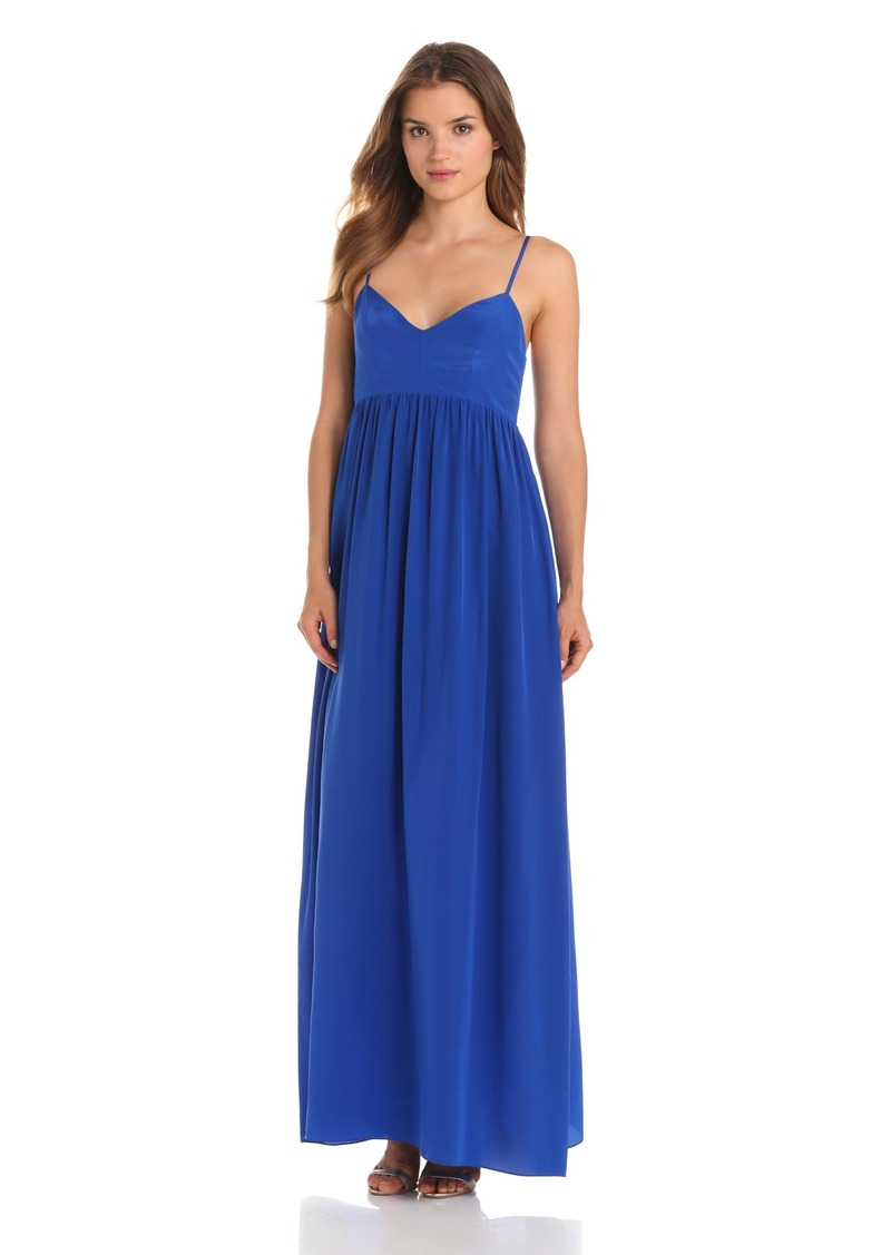 Amanda Uprichard Amanda Uprichard Women S Silk Gown Maxi