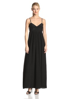 Amanda Uprichard Women's Silk Gown Maxi Dress