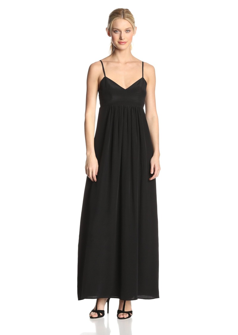 Amanda Uprichard Women's Silk Gown Maxi Dress