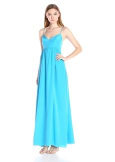 Amanda Uprichard Women's Silk Maxi Gown Dress  M