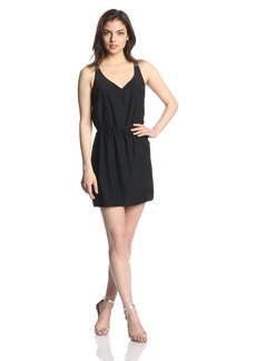Amanda Uprichard Women's Silk Racerback Shift Dress