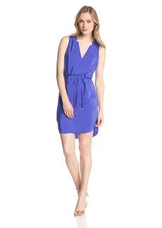 Amanda Uprichard Women's Simon Silk Tie-Waist Dress
