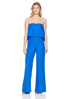 Amanda Uprichard Women's Topanga Jumpsuit  L