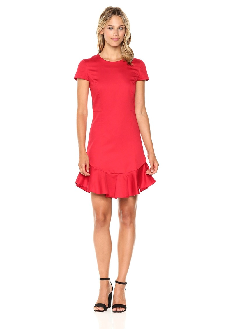 Amanda Uprichard Women's Torrence Dress red L