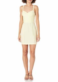 Amanda Uprichard Women's Turner Sleeveless Silk Mini Dress