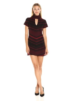 Amanda Uprichard Women's Zig Zag Dress  S