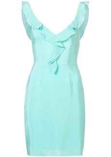 Amanda Uprichard cascading ruffle front dress
