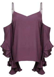 Amanda Uprichard cold shoulder blouse