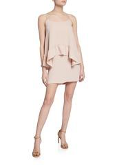 Amanda Uprichard Coretta Draped Sleeveless Dress