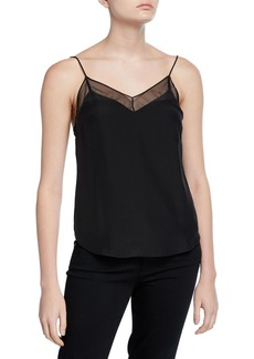Amanda Uprichard Frieda V-Neck Cami