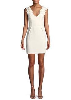 Amanda Uprichard Gimlet Sleeveless Ruffle Mini Dress