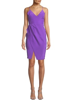 Amanda Uprichard Midtown Sleeveless Silk Dress
