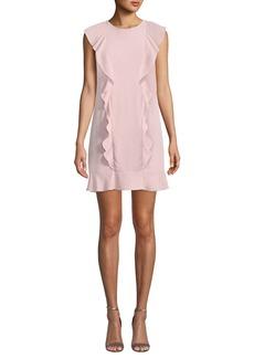 Amanda Uprichard Rutherford Ruffle Mini Dress