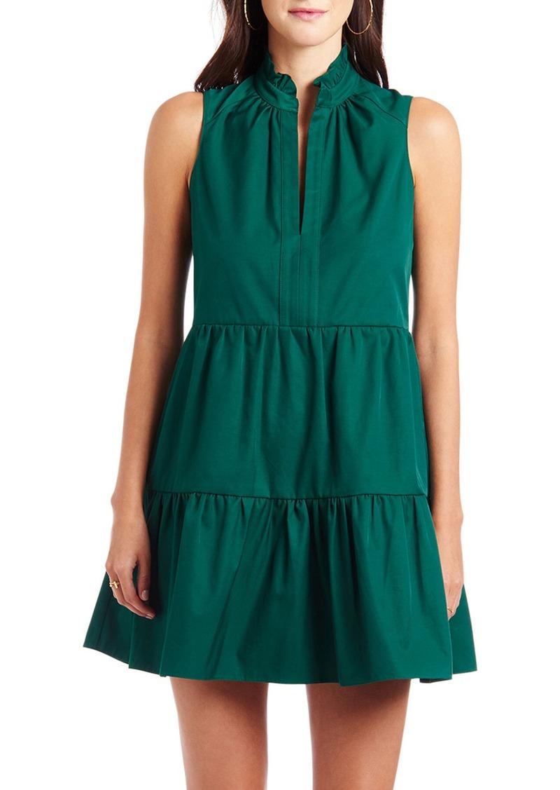 Amanda Uprichard Saffron Sleeveless Mini Dress