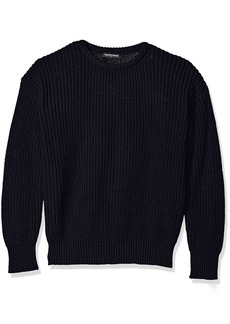 American Apparel en's Fisherman's Pullover Sweater  edium