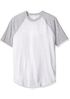 American Apparel Men's 50/50 Raglan T-Shirt