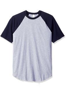American Apparel Men's 50 Raglan T-Shirt