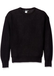 American Apparel Men's Fisherman's Pullover weater  mall