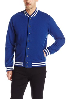 American Apparel Men's Heavy Terry Club Jacket  X-Small