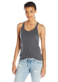 American Apparel Women's 50/50 Poly Cotton Racerback Tank Top  X-Small