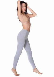 American Apparel Women's Cotton Spandex Jersey Legging  X-Large