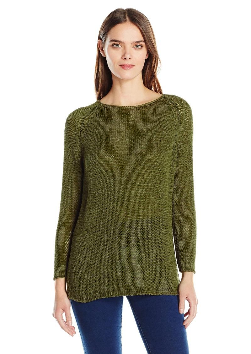American Apparel Women's Delphine Tunic Open Knit Stitch Sweater  X-Small/Small